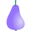 download Pear1 clipart image with 135 hue color