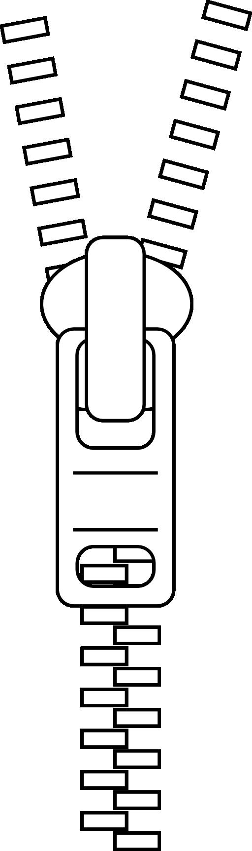 Zipper Line Art : Zip clipart i royalty free public domain