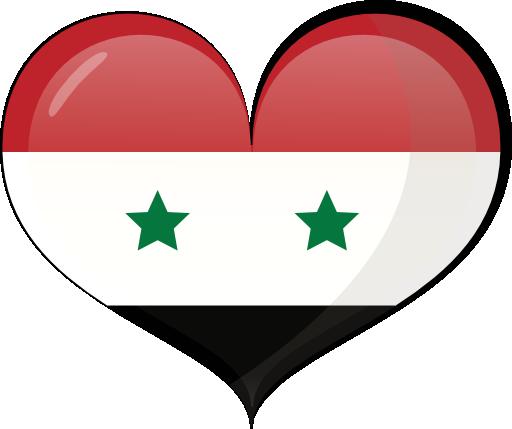صور علم سوريا القديم Clipart-syria-heart-flag-512x512-8d41