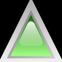 Led Triangular Green