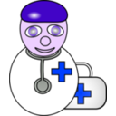 download Doctor clipart image with 225 hue color