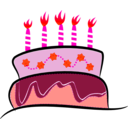 download Cake clipart image with 315 hue color