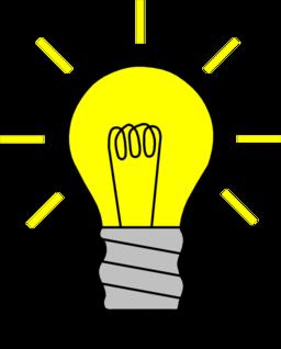 Light Bulb On Clipart I2Clipart Royalty Free Public Domain