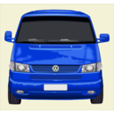 download Roter Vw Bus clipart image with 225 hue color