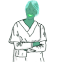 download Enrolled Nurse clipart image with 135 hue color