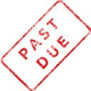 Past Due Business Stamp 2