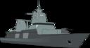 German Bundeswehr Frigate