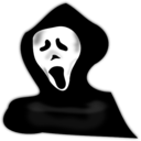 download Ghost Under Hood clipart image with 225 hue color