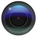 download Camera Lens clipart image with 225 hue color