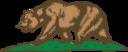 Flag Of California Bear And Plot