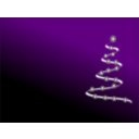 download Modern Christmas Tree 3 clipart image with 45 hue color