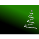 download Modern Christmas Tree 3 clipart image with 225 hue color