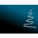 download Modern Christmas Tree 3 clipart image with 315 hue color