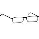 download Glasses clipart image with 225 hue color