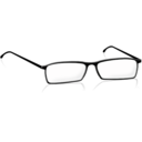 download Glasses clipart image with 315 hue color