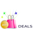 download Shopping Deals clipart image with 45 hue color