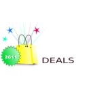 download Shopping Deals clipart image with 135 hue color
