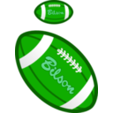 download Football clipart image with 90 hue color
