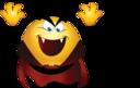 Dracula Smiley Emoticon