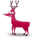 download Deer clipart image with 315 hue color