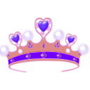 download Princess Crown clipart image with 315 hue color