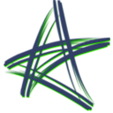 download Artistic Star clipart image with 225 hue color