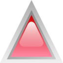 Led Triangular Red