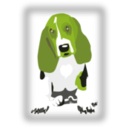 download Dog With Javascript For Scaling clipart image with 45 hue color