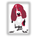 download Dog With Javascript For Scaling clipart image with 315 hue color