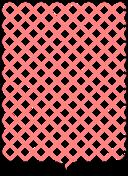 Shield Pattern Grid Transversal
