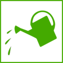 Eco Green Watering Icon