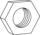 Hex Nut For Bolts