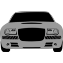 download Grey Car clipart image with 315 hue color