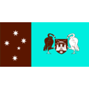 download Flag Of Australia Capital Territory clipart image with 135 hue color