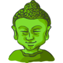 download Buddha Head clipart image with 45 hue color