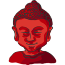 download Buddha Head clipart image with 315 hue color
