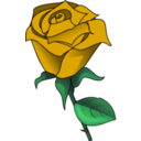 download Red Rose clipart image with 45 hue color