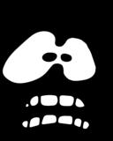 Fear Face Icon