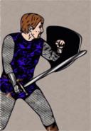 Scale Armor Warrior