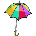 download Umbrella01 clipart image with 45 hue color