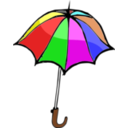 download Umbrella01 clipart image with 0 hue color