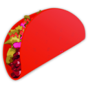 download Taco clipart image with 315 hue color