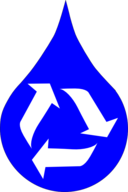 Recycle Water Blue