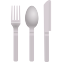 download Fork And Spoon clipart image with 225 hue color