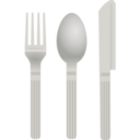 download Fork And Spoon clipart image with 315 hue color