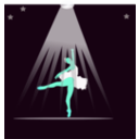 download Bailarina clipart image with 135 hue color
