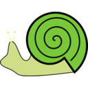 download Snail clipart image with 45 hue color