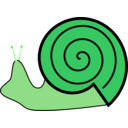 download Snail clipart image with 90 hue color