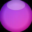 Empty Button Lila