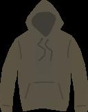 Brown Hooded Jumper